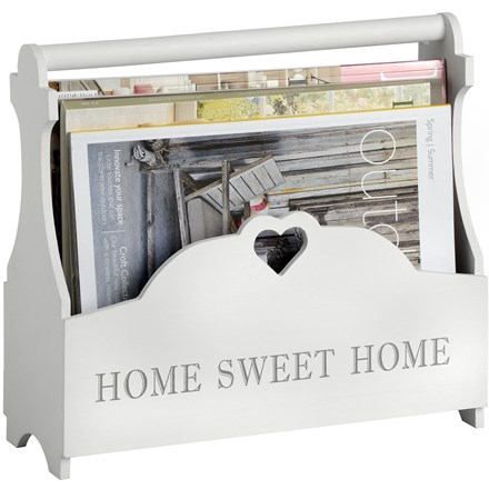 Heart Magazine Rack