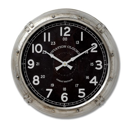 Aviation Wall Clock
