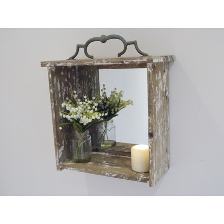 Rustic Box Mirror