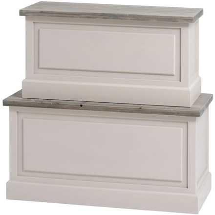 The Grove Collection Pair of Blanket Boxes