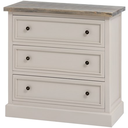 The Grove Collection 3 Drawer Chest