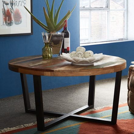 Reclaimed Indian Round Coffee Table
