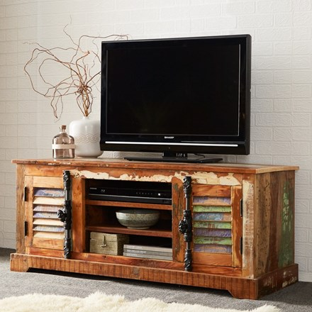Reclaimed Indian TV Cabinet