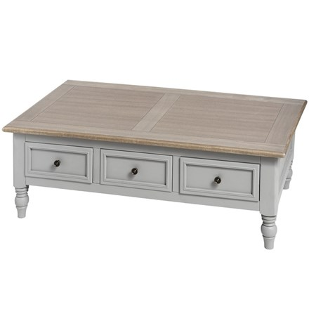 Cambridge Collection Six Drawer Coffee Table