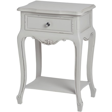 Milly Lamp Side Table with Drawer