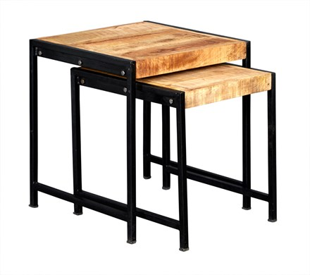 New Industrial Nest of Two tables