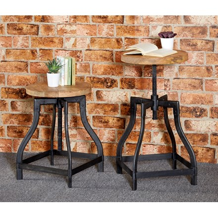 New Industrial Stool
