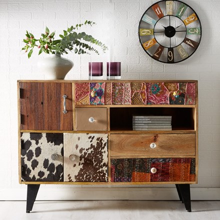 Tangley Colourful Sideboard