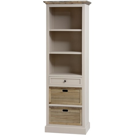 The Grove Collection Slim Tall Bookcase