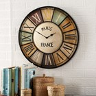 Paris Industrial Style Wall Clock