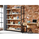 New Industrial Large Open Bookcase