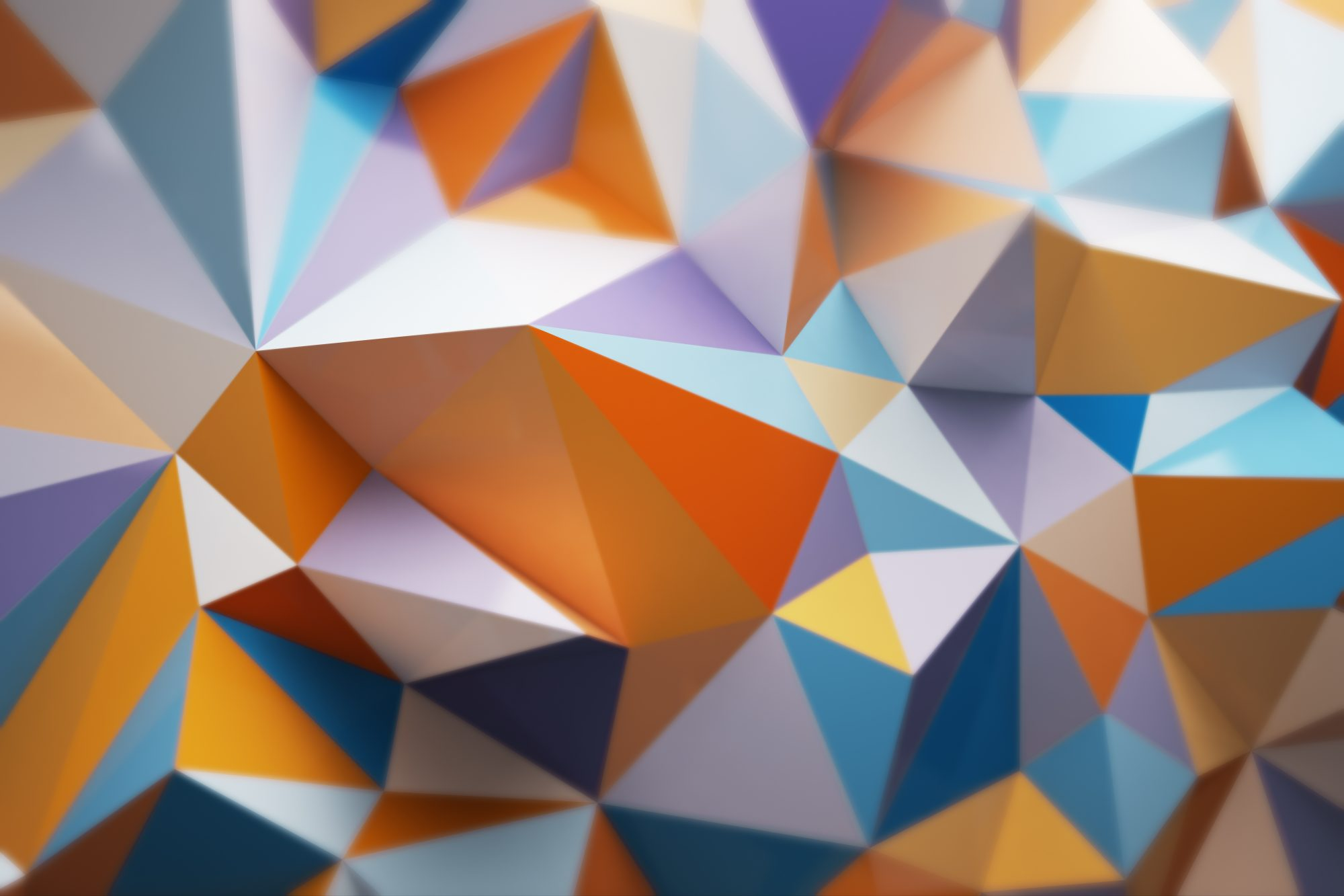 Presentation design workshop geometric banner image