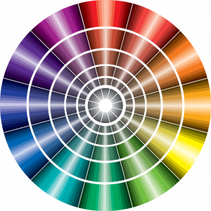 Adapted Munsell colour wheel