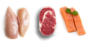 Fresh Meats, Poultry & Fish