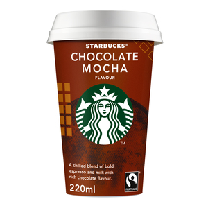 Starbucks Chilled Classics Chocolate Mocha Coffee Drink 220ml