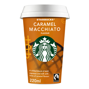Starbucks Chilled Classics Caramel Macchiato Coffee Drink 220ml