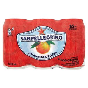 San Pellegrino Aranciata Rossa 6x330ml