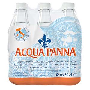 Acqua Panna Natural Mineral Water 6x 500ml