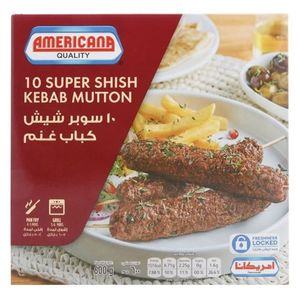 Americana Super Shish Kababs Mutton 600g
