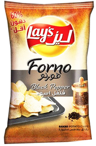 Lays Forno Black Pepper Chips 170g