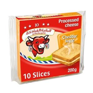 La Vache Qui Rit Cheddar Cheese Slices 200g