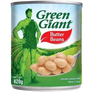 Green Giant Canned Butter Beans 420g