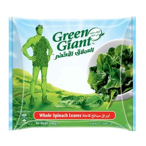 Green Giant Frozen Whole Spinach Leaves 450g
