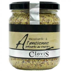 Clovis Whole Grain Mustard 200gm