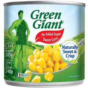 Green Giant Canned Super Sweet Corn 340g