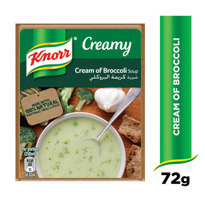 Knorr Cream Of Broccoli Packet Soup 72g