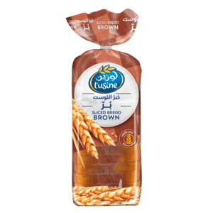 Lusine Bread Sliced Brown 600g