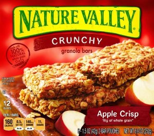 Nature Valley Granola Apple Crisp Bar 6x42g