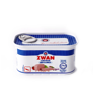 Zwan Beef Luncheon Meat Hot & Spicy 200g
