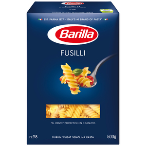 Barilla Fusilli Pasta 500g