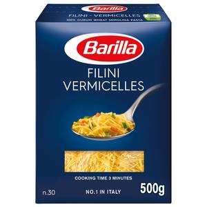 Barilla Pasta Filini Vermicelles 500g