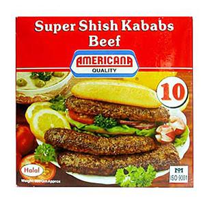 Americana Super Shish Kababs Beef 600g