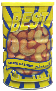 Best Salted Cashew In Can M 500g