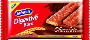 Mcvities Digestive Chocolate Bars 30g