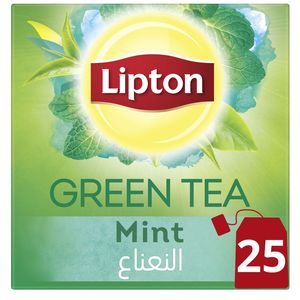 Lipton Green Tea Mint 25s