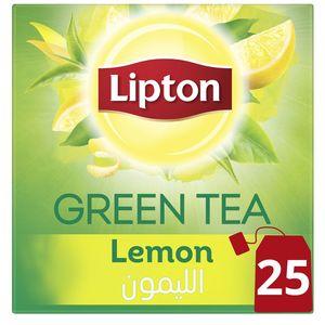 Lipton Green Tea Lemon 25s