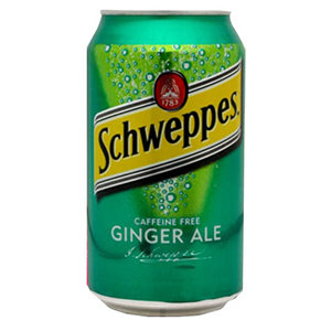 Schweppes Ginger Ale Can 300ml