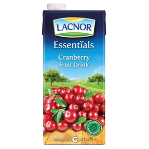Lacnor Long Life Cranberry 1L