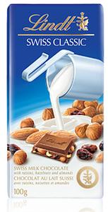 Lindt Classic Milk Hazelnut 100gm