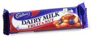 Cadbury Dairy Milk Fruit & Nut 45g
