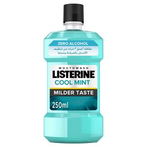 Listerine Mouthwash Cool Mint Milder Taste 250ml