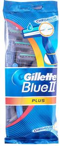 Gillette Blue Ii Plus Men's Disposable Razors 10s
