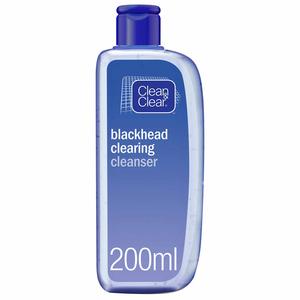 Clean & Clear Face Cleanser Blackhead Clearing 200ml