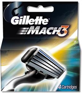 Transmed Gillette Mach3 Blades 4s