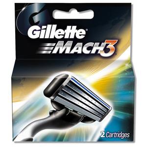 Gillette Mach3 Blades 2s