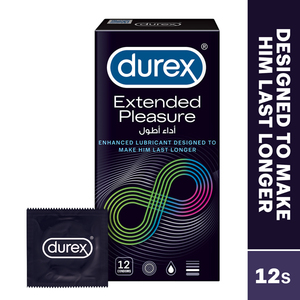 Durex Extended Pleasure Condom 12pcs